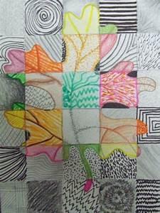 mon nid astucieuse l39art genial d39automne feuilles With les couleurs chaudes et froides 3 a la maniare de robert combas