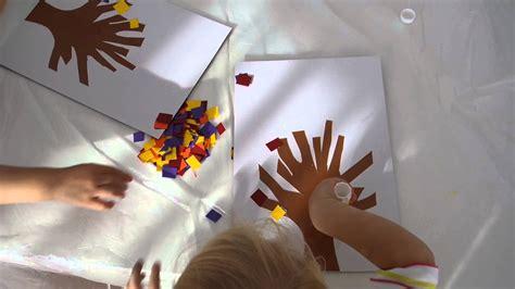schnelle bastelideen fuer den herbst basteln mit kleinen kindern chicmomy youtube