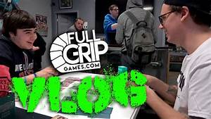 Natalie and Andrew Tournament Vlog at Full Grip Games ...