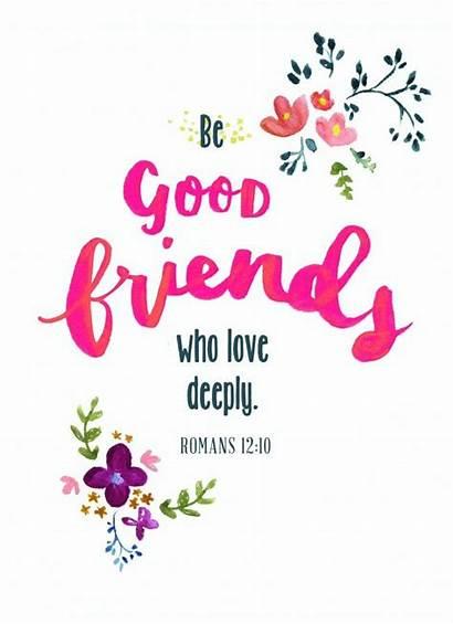 Scripture Verses Bible Friendship Quotes Sunday Friend