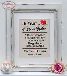 16th wedding anniversary gifts for him best 25 20 year anniversary gifts ideas on 10 year anniversary gift paper