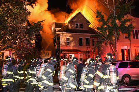Off-duty Brooklyn firefighter loses home in five-alarm ...