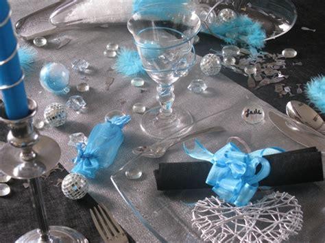 deco mariage blanc gris bleu