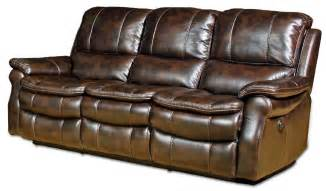 reclining sofa reclining sofa loveseat and chair sets seth genuine leather power reclining sofa