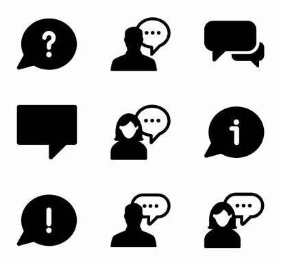 Talking Talk Icon Vector Icons Clip Creative