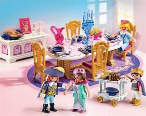 salle a manger royale playmobil princesses et feerie With salle a manger royale