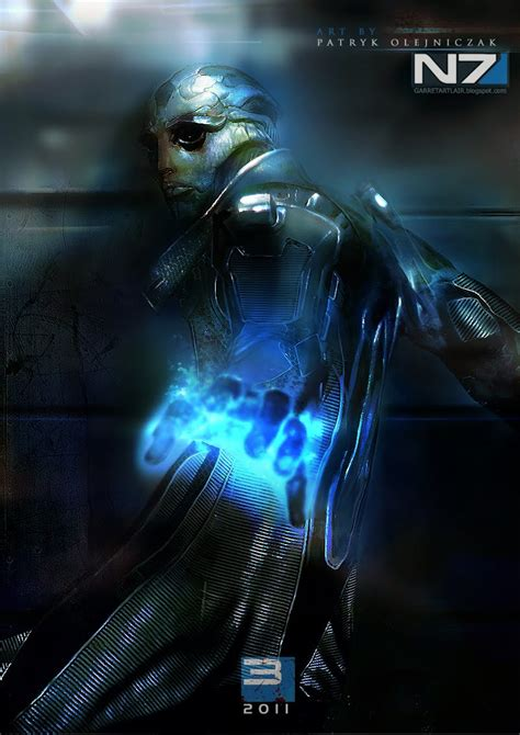 Dont Think Of This As Mass Effect 3 Fan Art Kotaku