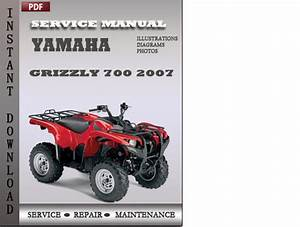 Yamaha Grizzly 700 2007 Factory Service Repair Manual Downlod