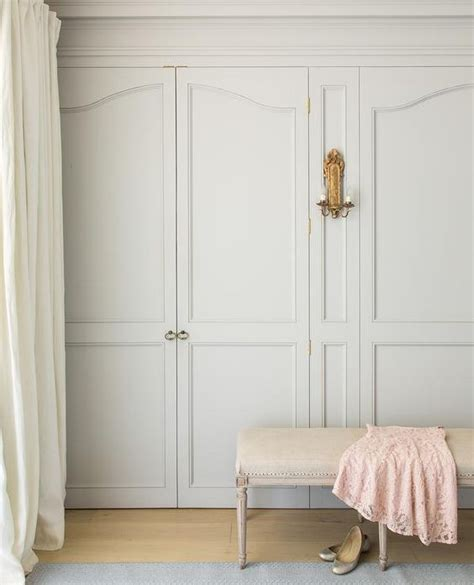chic closet feature slight gray wardrobe closet