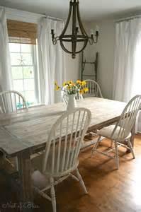 bathroom valances ideas farmhouse table makeover nest of bliss