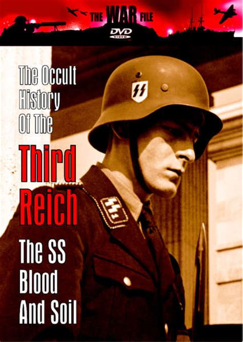 occult history    reich  ss blood