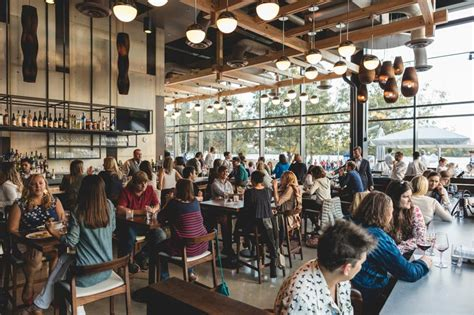 restaurant restaurants dc riverfront washington capitol winery crowded dining bar district room navy yard area places eat menu contemporary scene