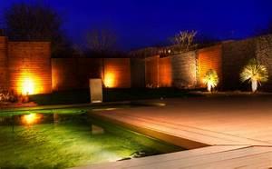 Eclairage Exterieur Jardin : eclairage jardin nuit ~ Melissatoandfro.com Idées de Décoration
