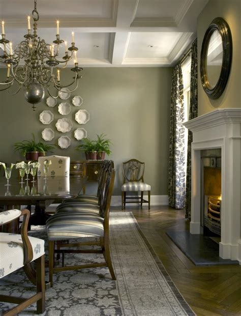 English Country House   Traditional   Dining Room   phoenix   by David Michael Miller Associates