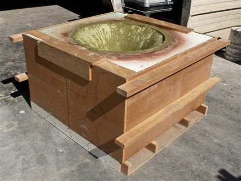 how to make a concrete table top four tabletop forming concrete exchange