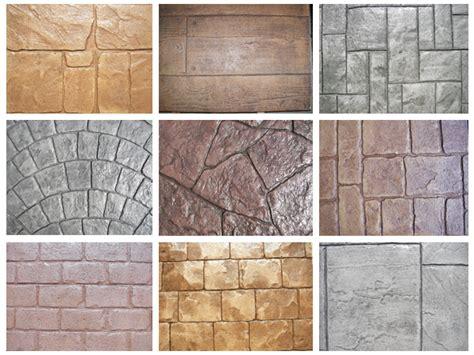 concrete color and design sted concrete patterns designs ferrazza cement