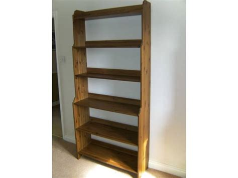 Ikea Wood Bookcase by Ikea Leksvik Antique Wood Bookcase A Condition