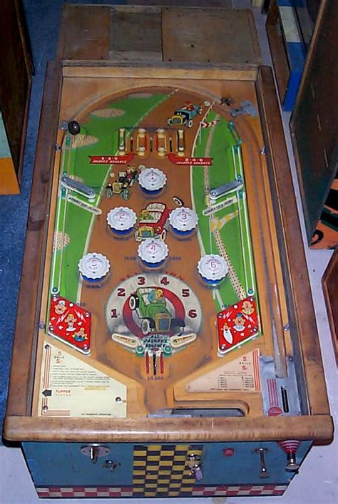 williams jalopy pinball  coin operated pinball arcade game