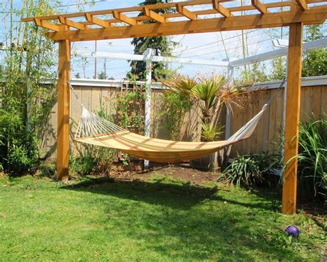Hammock On Deck by Pergola Hammock Stand Arquitetura E Design