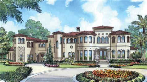 Mediterranean Home Plans  Mediterranean Style Home