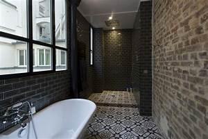 Carreau Metro Blanc : 36 id es d co avec des motifs carreaux de ciment ~ Preciouscoupons.com Idées de Décoration