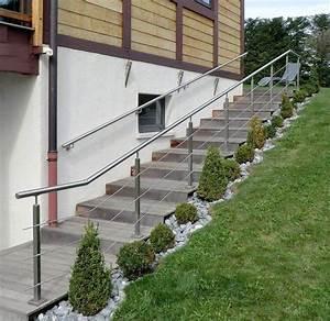 garde corps exterieur rambarde sur mesure terrasse et With escalier terrasse exterieur jardin