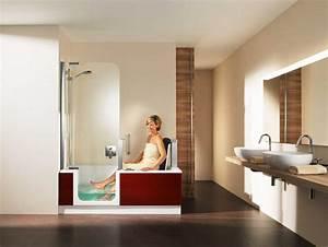 Badewanne Mit Dusche Kombiniert : badewanne mit integrierter dusche und einstieg das beste design komplett mit t ren und st hle ~ Sanjose-hotels-ca.com Haus und Dekorationen