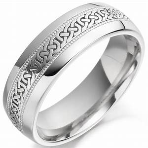 Mens celtic wedding rings buyretinaus for Celtic wedding rings for men