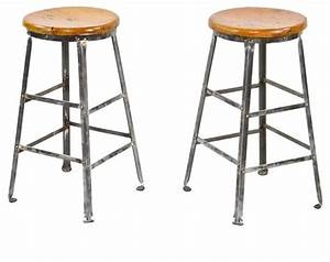 Industrial Stools - Industrial - Bar Stools And Counter
