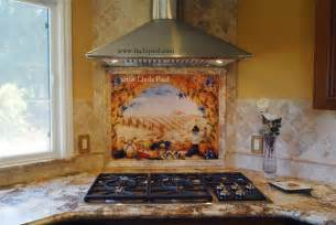kitchen tile backsplash murals italian tile murals tuscany backsplash tiles