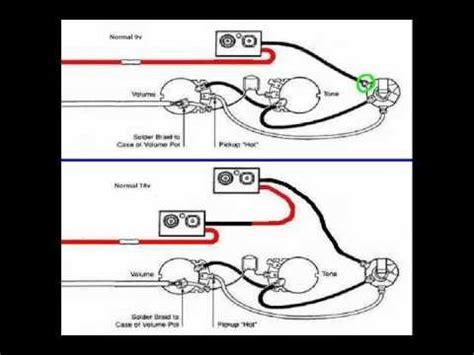 Emg Pjx Bass Pickup Install With Volt Battery Mod