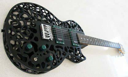 new atom 3d printed electric guitar has a more metallic sound tct magazine