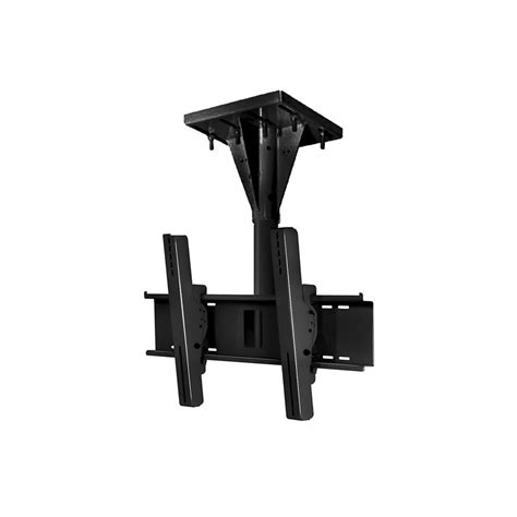 Peerless Drop Ceiling Mount by Peerless Ecmu 01 I Black Wind I Beam Ceiling Mount