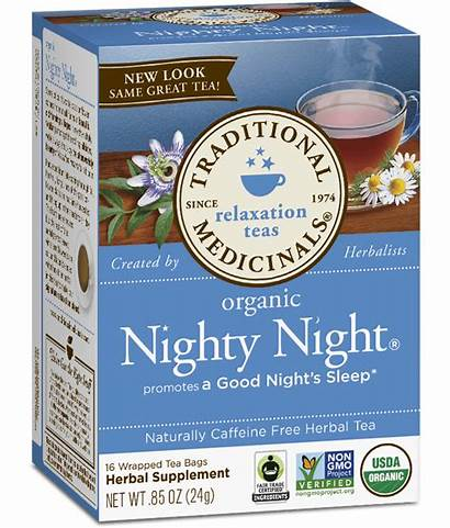 Tea Night Nighty Traditional Medicinals Organic Herbs