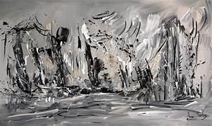 Tableau Photo Noir Et Blanc : tableau noir blanc gris moderne ~ Melissatoandfro.com Idées de Décoration