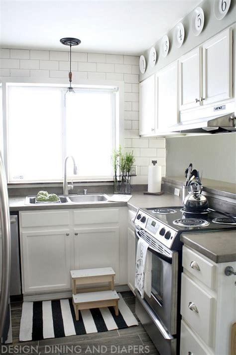 small kitchen remodel   modern farmhouse style