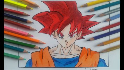 Desenhos para colorir dragon ball z goku super sayajin
