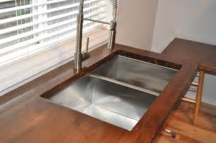 Home Depot Kitchen Sinks Undermount by Suburbs Mama Our Butcher Block Counters