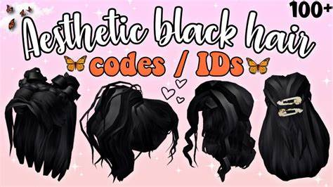 Hair codes in games like welcome to bloxburg are a great way to enhance a roblox character to get your avatar strutting around the playing world in style. 100+ Aesthetic Black Hair Codes / IDs For Bloxburg (Girls & Boys) ~NEW Black Hair Decals~ Roblox ...