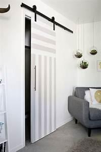 Porte Interieur Grise : 1001 id es originales comment peindre une porte int rieure ~ Mglfilm.com Idées de Décoration