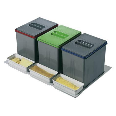 poubelle cuisine coulissante sous evier poubelle cuisine tri selectif 3 bacs ohhkitchen com