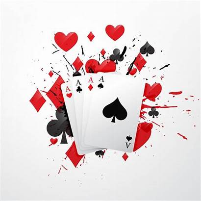Poker Vectors Cards Vector Background Psd