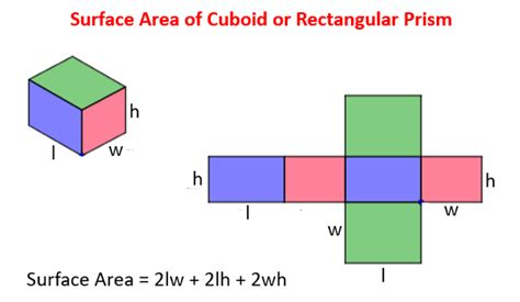 Surface Area Of Cuboid (solutions, Examples, Videos