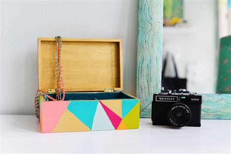 How To Organize Dresser by Organize Your Jewelry With This Colorful Geometric Diy