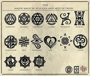 The Major Magical Arts in Tariel by Levodoom on DeviantArt