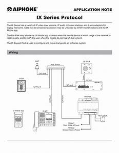 Aiphone Ix Mv Wiring Diagram