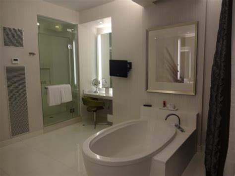 master bathroom penthouse suite picture  aria sky