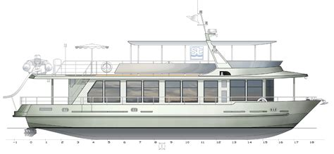 Wooden Houseboat Plans by Topic River Boat Plans Feralda