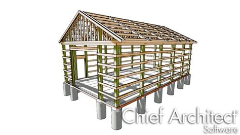 view interior of homes designing a traditional pole barn structure
