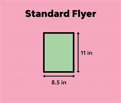 Flyer Standard Sizes Poster International Guide Tabloid
